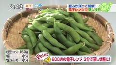 枝豆 電子 レンジ